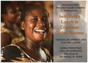 Self-Help's Lunch to Empower Global Women