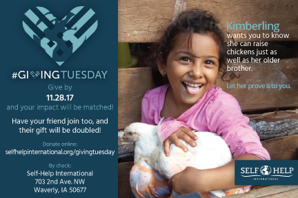#GivingTuesday is tomorrow – double your impact!