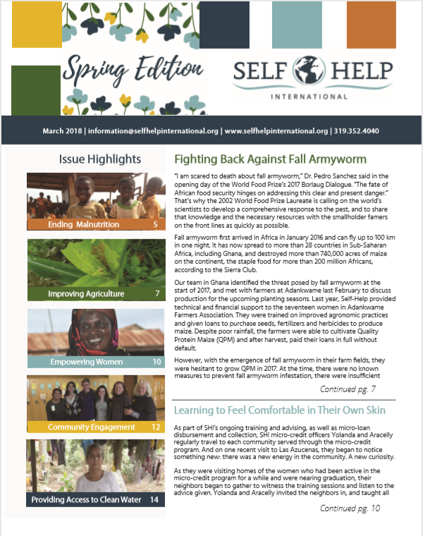 Self-Help News: Spring Edition Newsletter is Here!